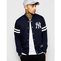Majestic New York Yankees - Giacca college - Blu navy