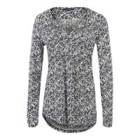 Marc O'Polo Jerseybluse mit Allover-Print