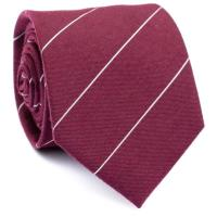 Neckwear Diamond tipbridge Stripes Wool Tie
