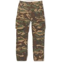 Neighborhood Camouflage-print Cotton Cargo Trousers - Green