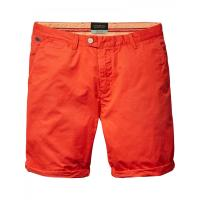 Scotch & Soda Herren Short Basic Rot W 30