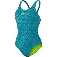 Speedo Monogram Allover Muscleback Schwimmanzug Damen