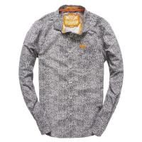 Superdry Long Sleeved Cut Collar Hemd
