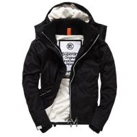 Superdry Pop Zip Hooded Arctic Windcheater-Jacke