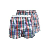 Tom Tailor 2 PACK Boxershorts blue