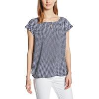 Tom Tailor Damen Bluse Bluse Printed Sleeveless Blouse/603