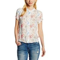 Tom Tailor Damen Bluse Detailed Printed Blouse