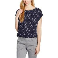 Tom Tailor Damen Bluse S-Less Printed Blouseshirt/602