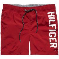 Tommy Hilfiger Bademode »LOGO TRUNK«, rot, CHILI PEPPER