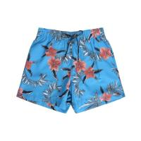 Tommy Hilfiger Blaue Badehose Palm Flowers