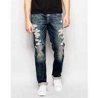 True Religion Geno - Jeans in Rough City-Waschung - Rough City