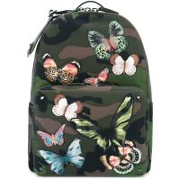 Valentino camubutterfly rockstud backpack