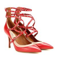 Valentino Pumps Love Latch aus Leder