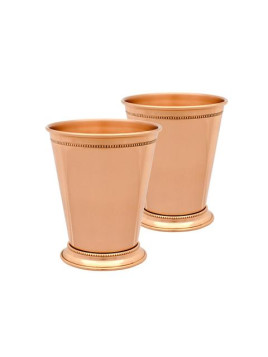 10 Strawberry Street Copper Julep Cup Set Of 2