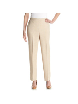 Alfred Dunner Petites Lavender Fields Pull On Pants