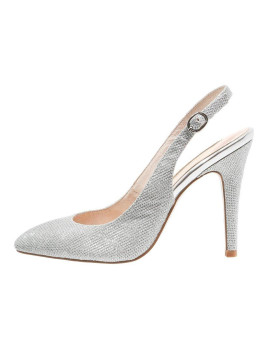 Alma En Pena High Heel Pumps star silver