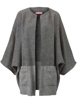Basler Cape in 100% wool from Basler grey