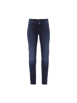 Cambio Straight Fit Jeans mit hoher Leibhöhe