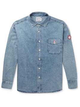 Cav Empt Embroidered Denim Shirt