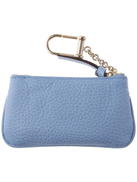 Gucci Key Chain for Women, Key Ring On Sale, Mineral Blue, Leather, 2016