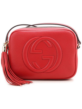 Gucci Shoulder Bag for Women, Vibrant Red, Leather, 2016