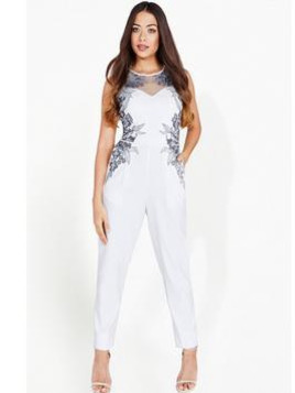Little Mistress Embroidered Jumpsuit