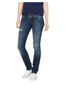 Stretchige Skinny Jeans Molly blau