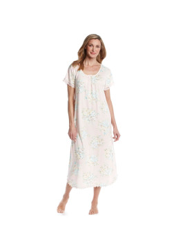 Miss Elaine Long Printed Nightgown