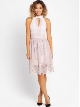 Myleene Klass Floral Lace Tiered Dress