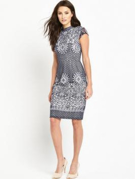 Phase Eight Fran Placement Lace Dress