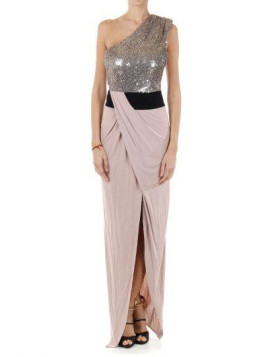 Pinko PETUNIA long dress with sequins Herbst/Winter