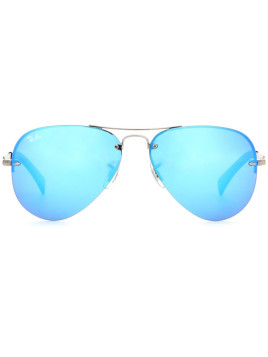ray ban aviator blauw spiegel