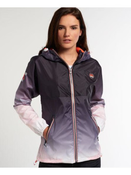 Superdry Tri Colour Zip Through Spray Windcheater-Jacke