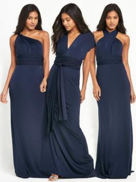 Tfnc Tfnc Felpa Multiway Fishtail Maxi Dress