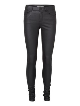 Vero Moda Jeggings Seven NW Smooth Coated schwarz