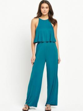 Very V By Very Tiered Jersey Jumpsuit