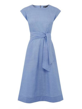 Warehouse Full Cotton Midi Dress