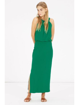 Warehouse High Neck Midi Dress