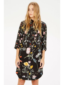 Warehouse Scatter Floral Shirt Dress