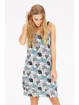 Warehouse Tile Print Cami Dress