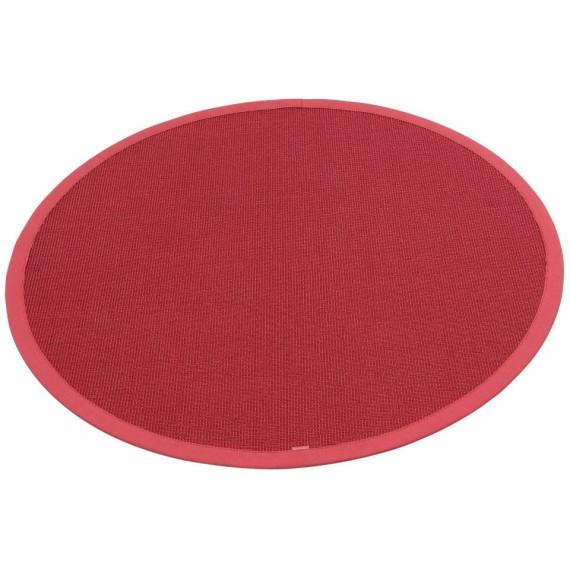 SisalTeppich »Dortmund«, DEKOWE, rot, Ø 200 cm von Cnouch