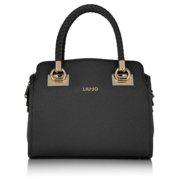 tasche anna bauletto boston bag m nero in schwarz henkeltasche. Black Bedroom Furniture Sets. Home Design Ideas