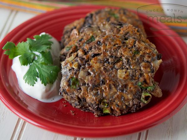 Black Bean Falafel