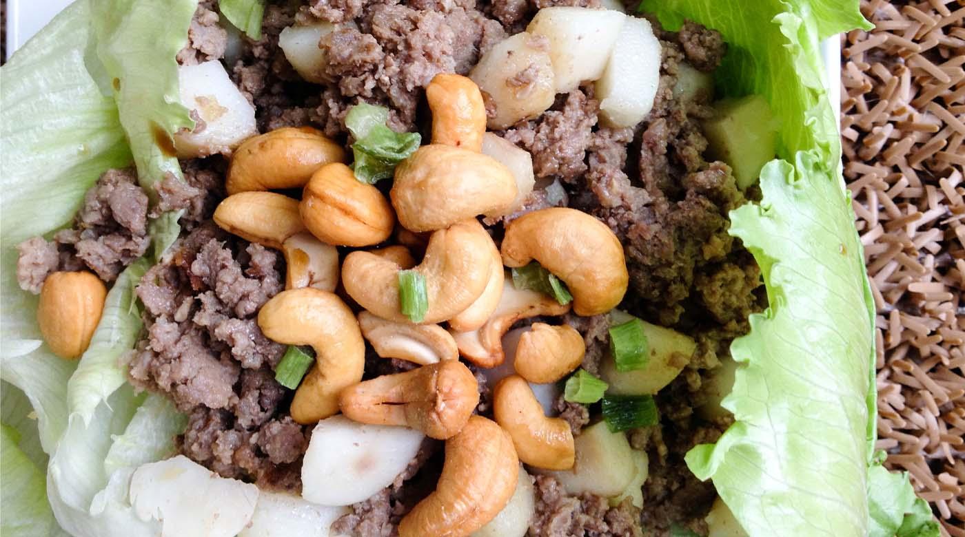 Paleo Beef Lettuce Wraps