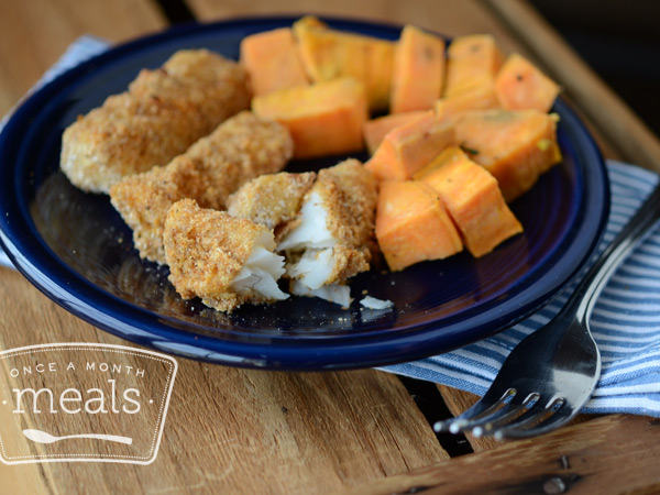 Healthy and kid friendly fish sticks once a month meals for Kid friendly fish recipes