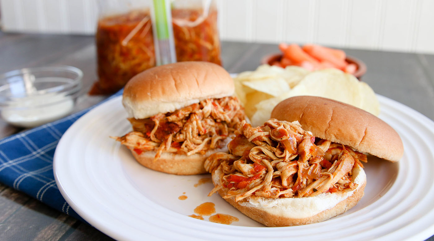 Slow Cooked Buffalo Chicken