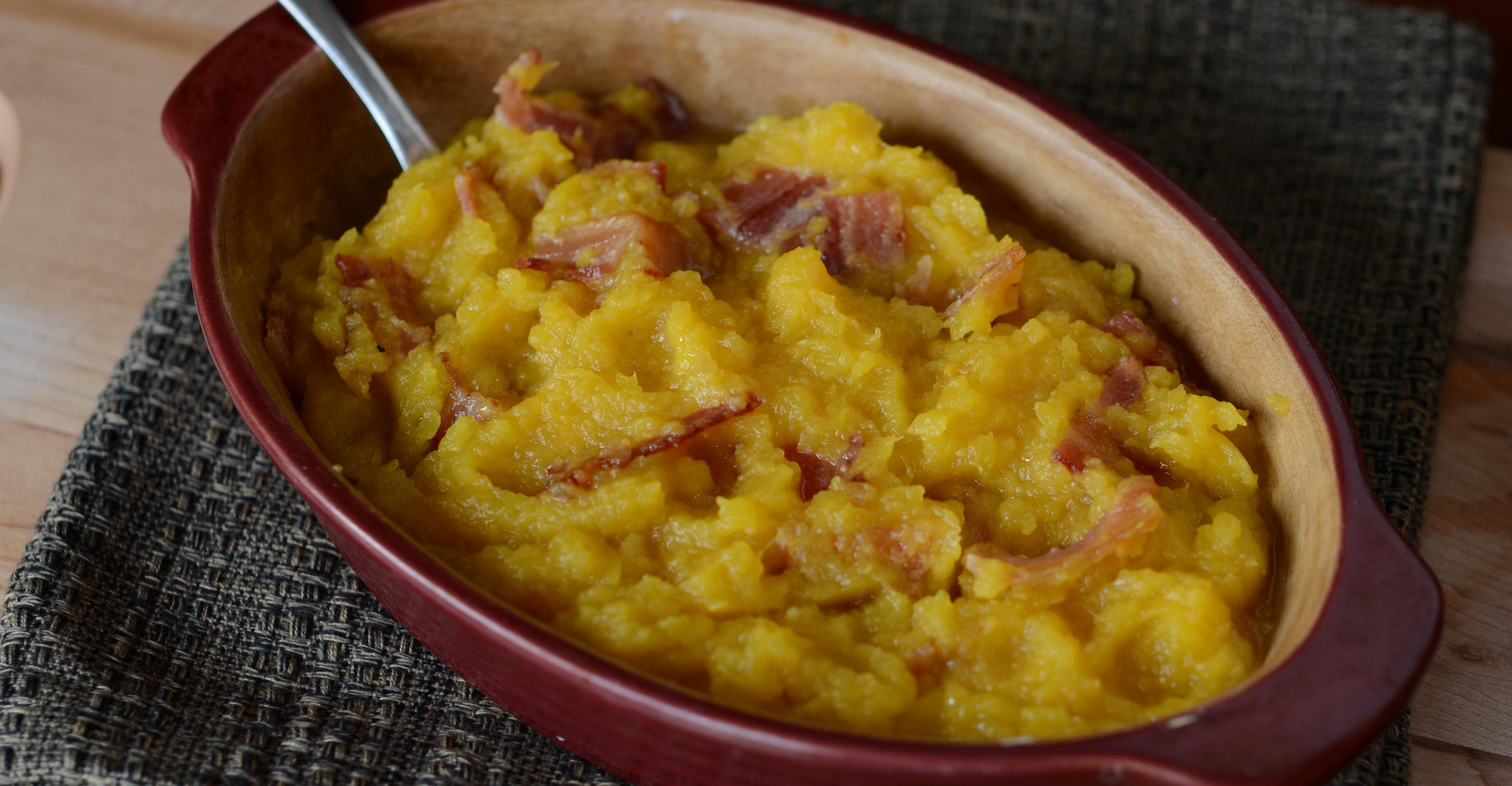 Maple Bacon Acorn Squash