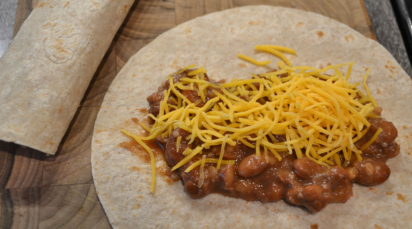 Bean and Cheese Burritos | Once A Month Meals