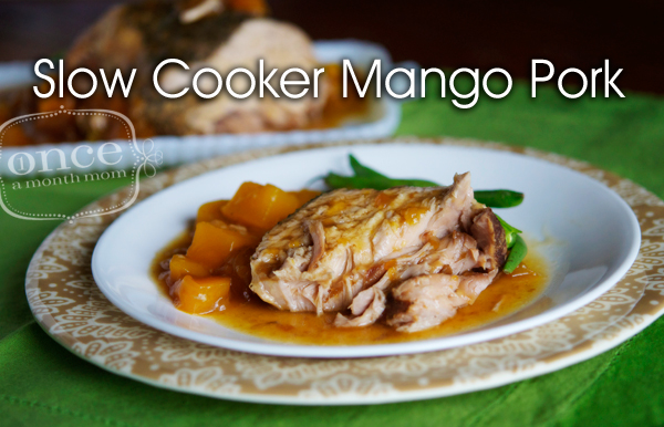 Slow Cooker Mango Pork