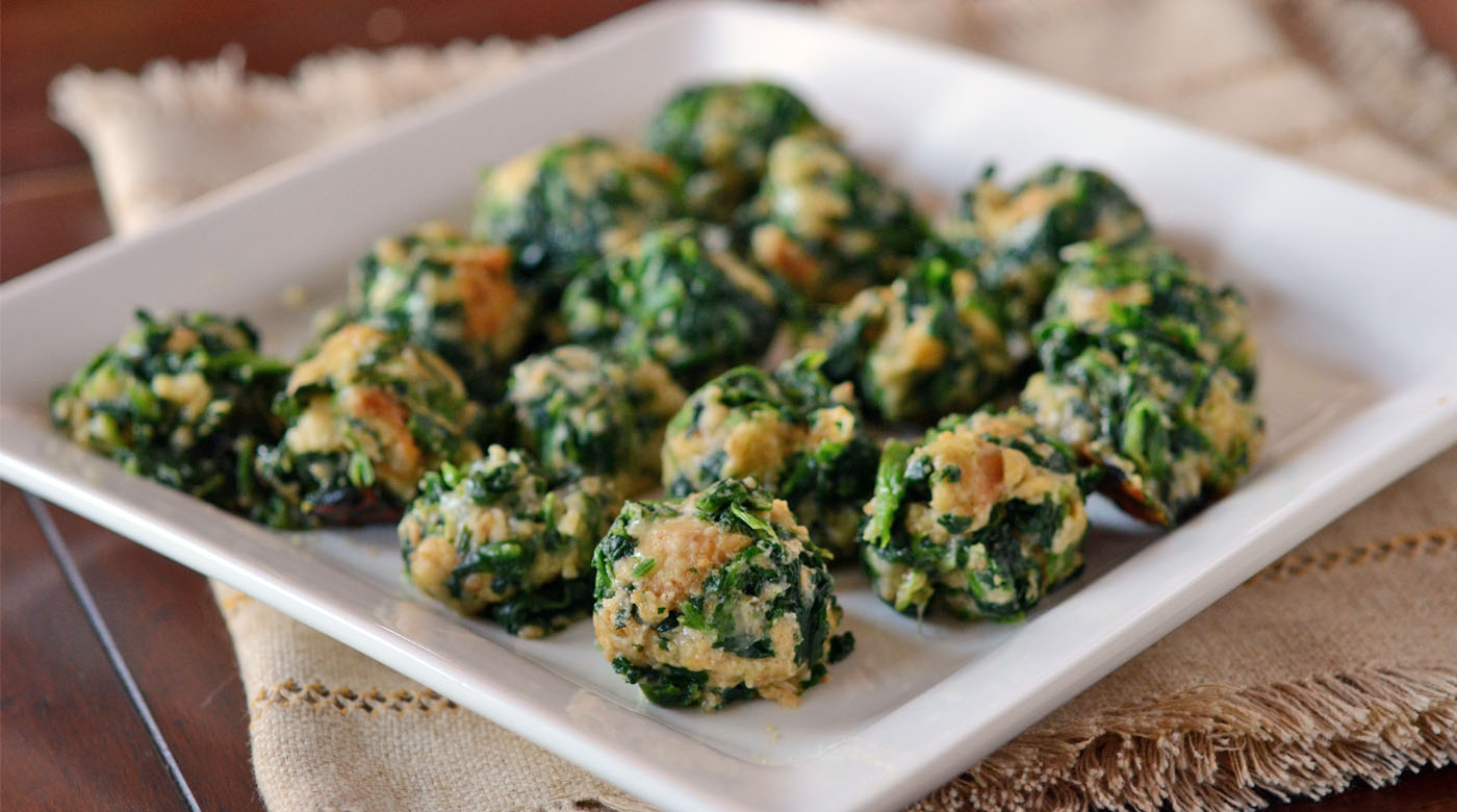 Spinach Balls | Once A Month Meals